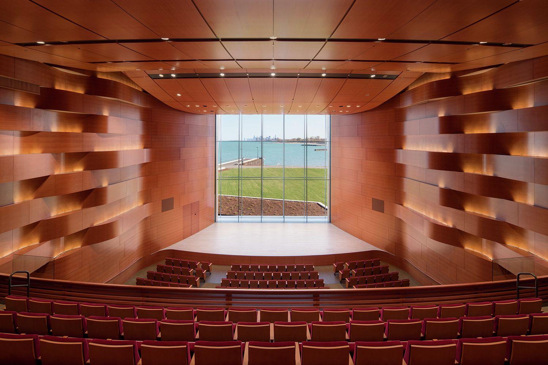 Gallery Of Northwestern University Ryan Center Goettsch Partners 5 Northwestern University Architecture Auditorium Architecture