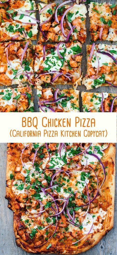 BBQ Chicken Pizza (California Pizza Kitchen copycat)