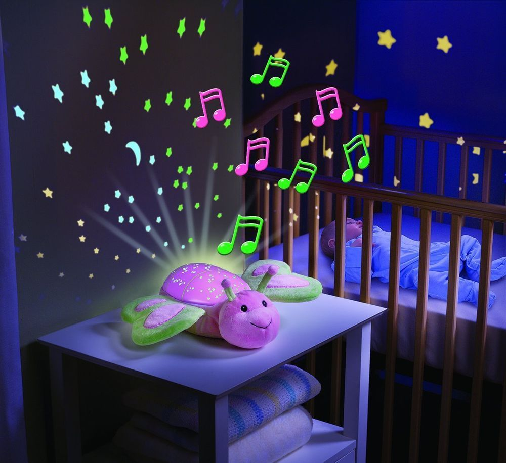 Kids Bedroom At Night details about baby night light cot mobile projector nursery light