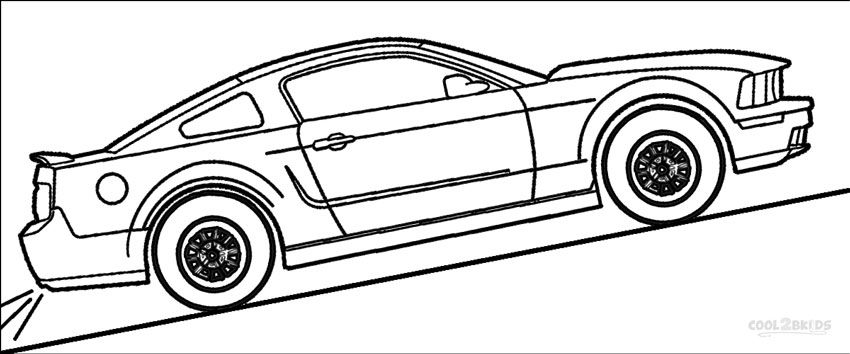 Mustang Coloring Pages Cars Coloring Pages Mustang Mustang Cars