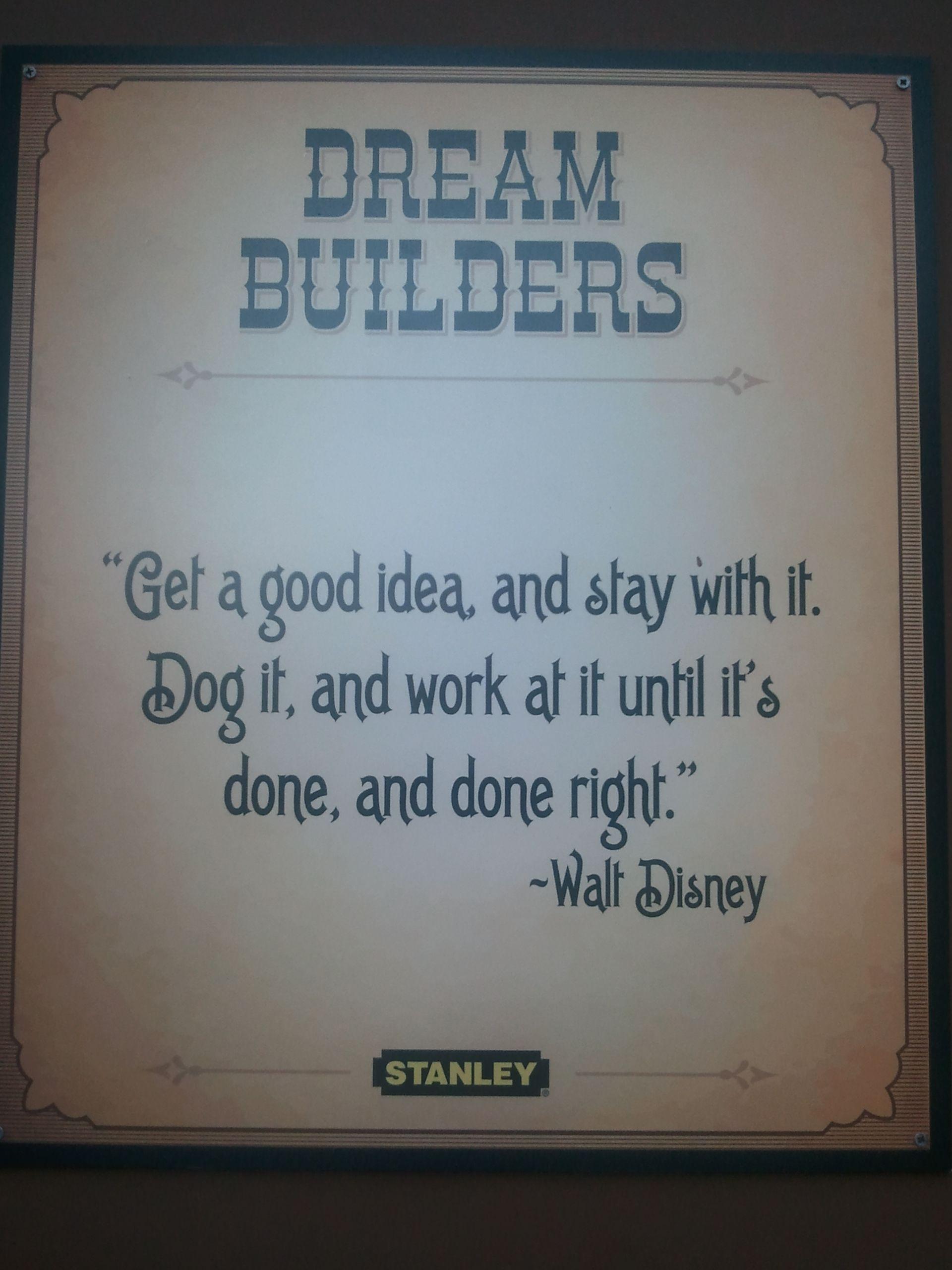 Dream builderlove this words worth words quotes
