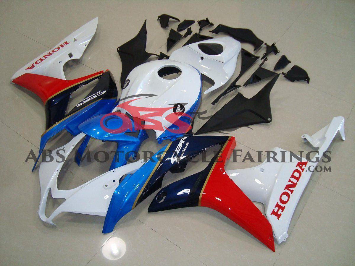 Black Blue & Red 2007-2008 Honda CBR600RR Kings Motorcycle Fairings