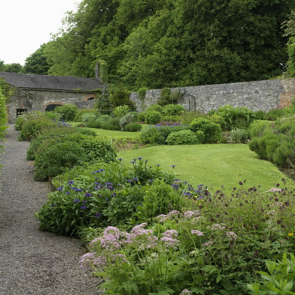 Walled garden at Bunratty, near Limerick. Approx 20 mins ...