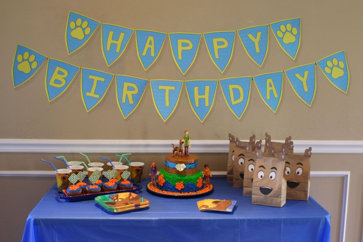 Scooby doo partylove the bags Scooby Doo Party Pinterest