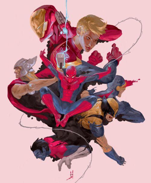 Marvel Bomb by Oscar Romer