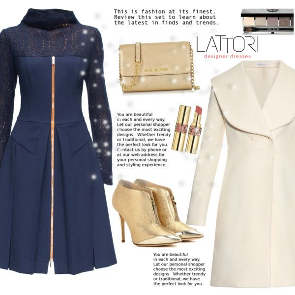 LATTORI DRESS <3 by elly-852 on Polyvore featuring moda, Lattori, J.W. Anderson, Jimmy Choo, Michael Kors, Bobbi Brown Cosmetics, Yves Saint Laurent and lattori