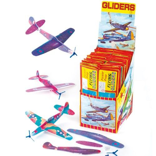 Flying Gliders Sow Much Fun For Such Cheap Toy Kids Party