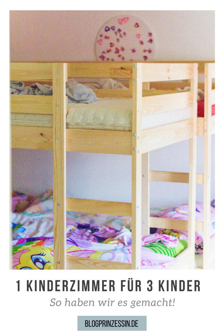 1 Kinderzimmer Für 3 Kinder, So Haben Wir Unser Etagenbett Gefunden Und  Platz Im Kinderzimmer