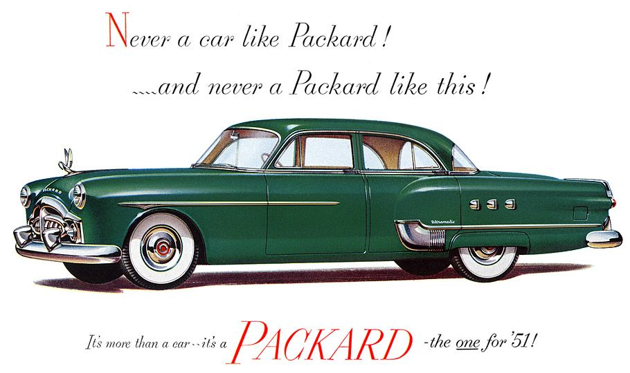 Curbside classic 1955 packard four hundred bravely