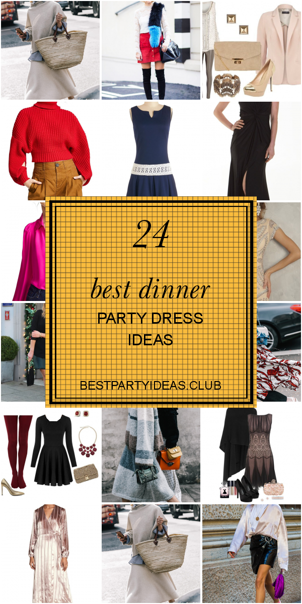 24 Best Dinner Party Dress Ideas #summerdinneroutfits