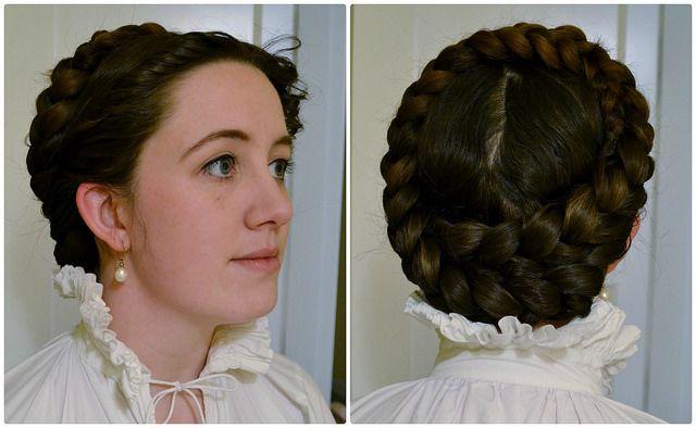 italian braids and curls - hair