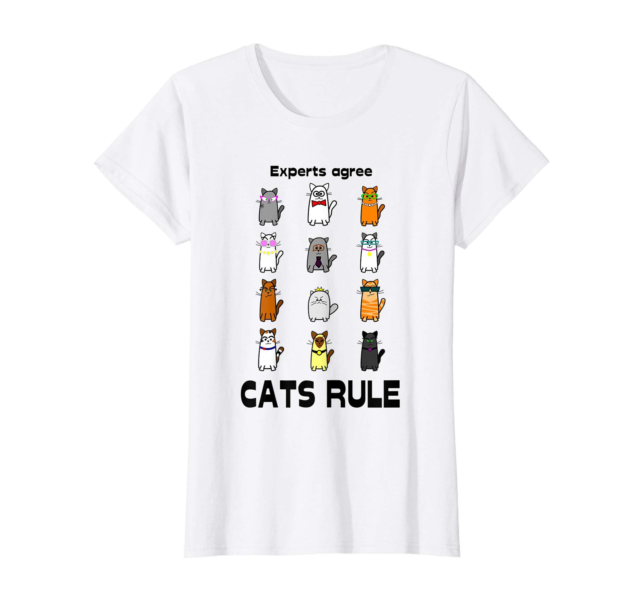 This Cute Cat Experts Say That Cats Rule T Shirt Is Great
