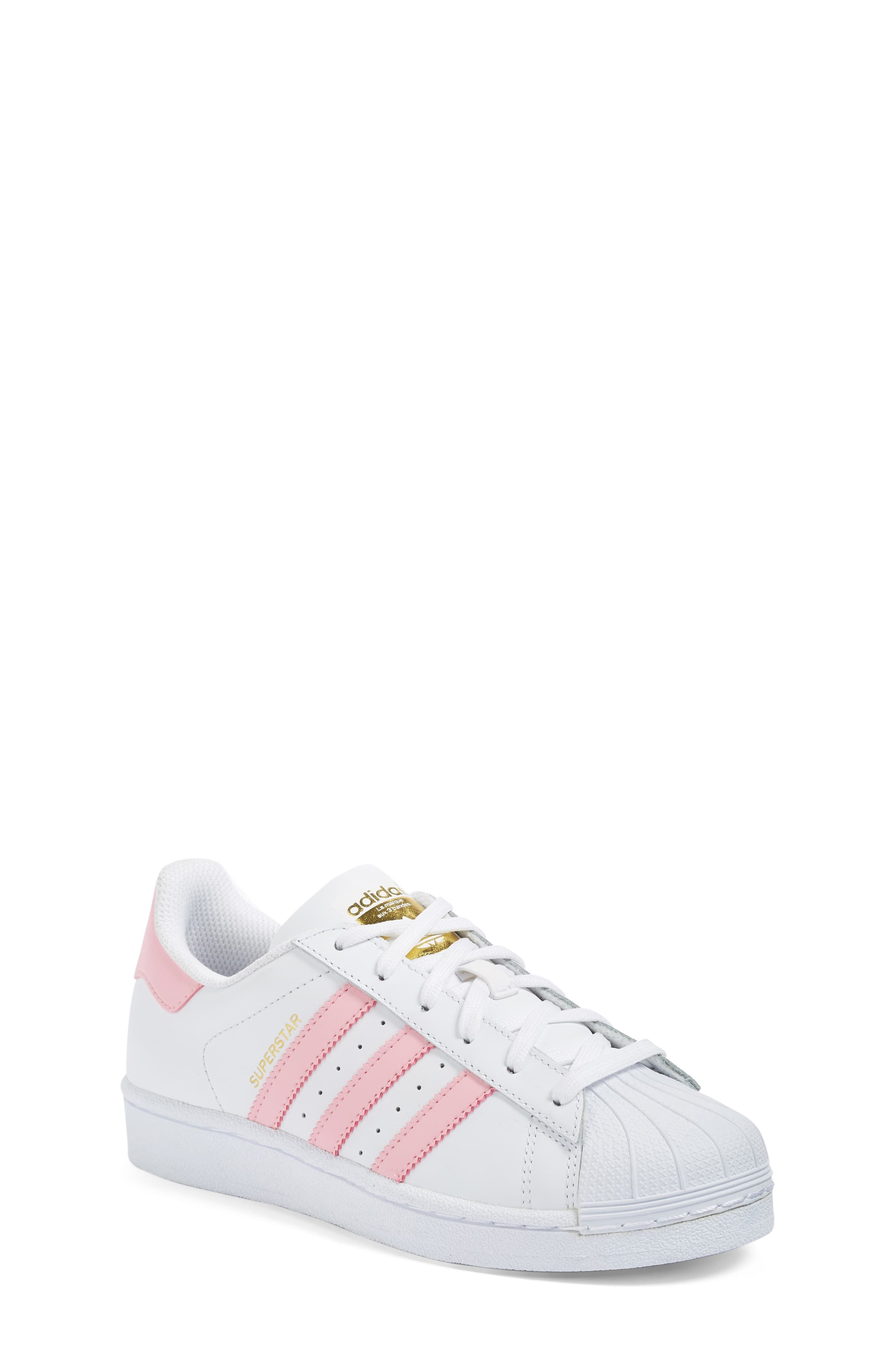 adidas Superstar Foundation Sneaker (Toddler, Little Kid