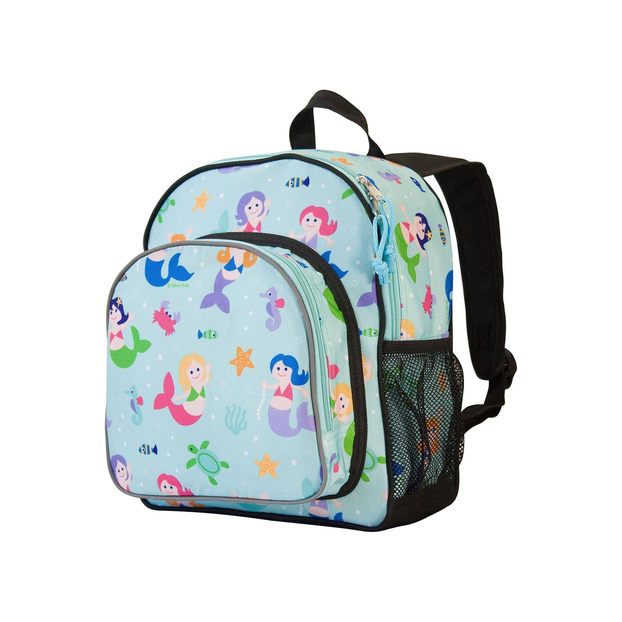 d9733db5533c Wildkin Olive Kids Mermaid Pack  n Snack Backpack - Kids