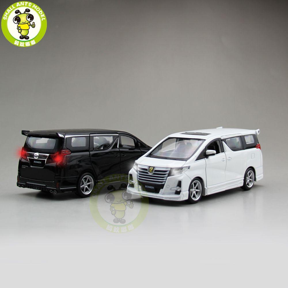Honda car toys  Import  Toyota ALPHARD ROWEN Japan PREMIUM Sgrade Diecast Model