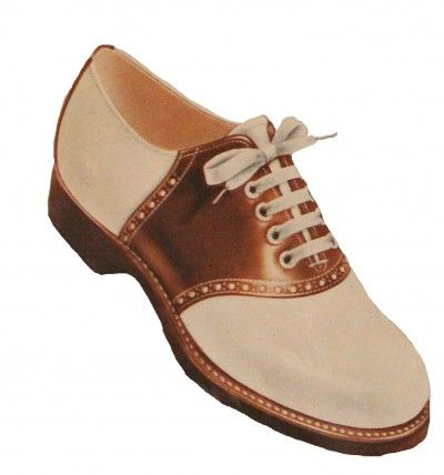 4afe81be1bf3e Saddle Shoes History: 1920s to 1960s | Vintage Glamour 1940's ...