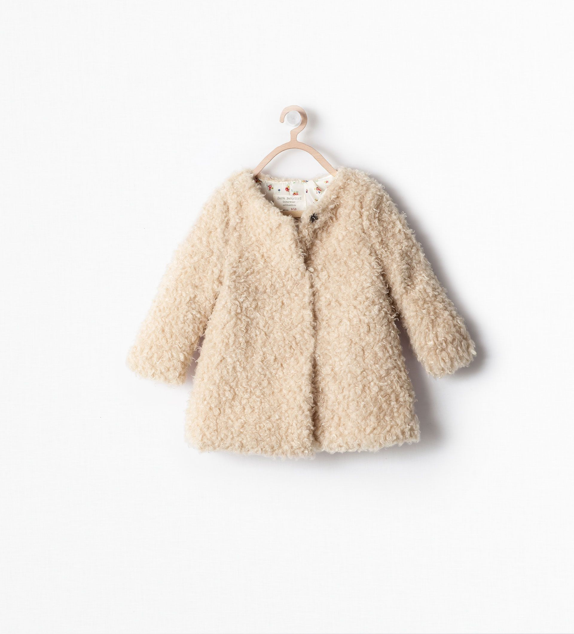 SHEEPSKIN COAT from Zara Baby Girls | Baby/Toddler Girl ...