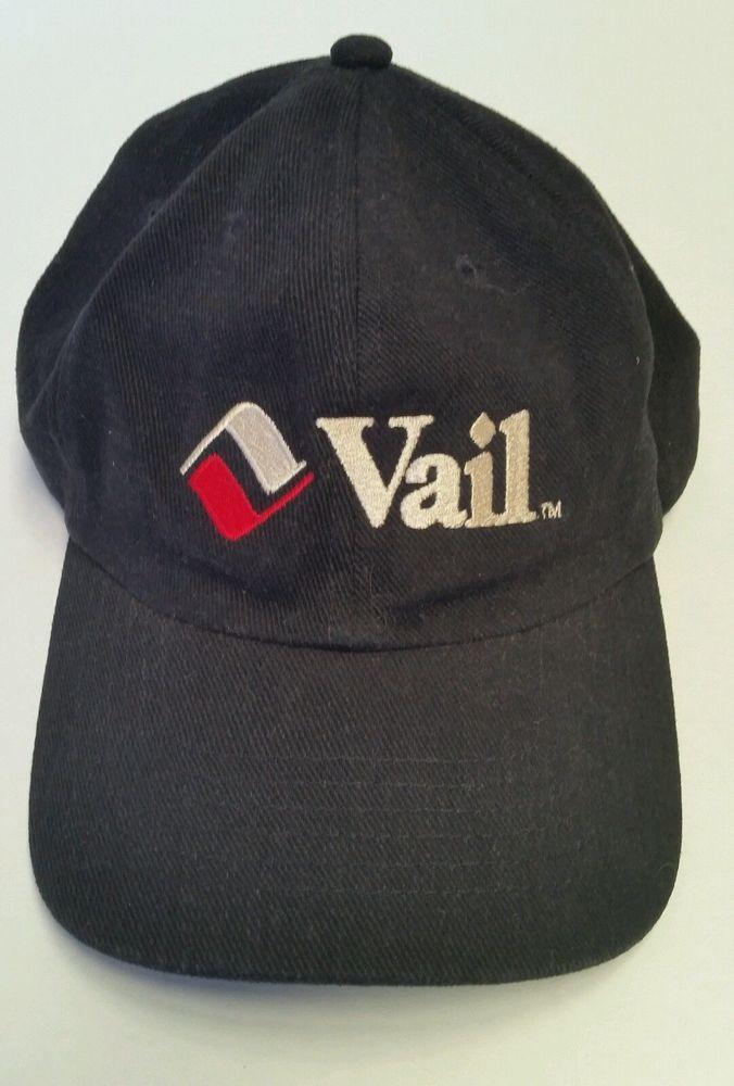 Vail Colorado Hat Cap Ski Snowboard Resort Embroidered Snapback Skiing Mountain