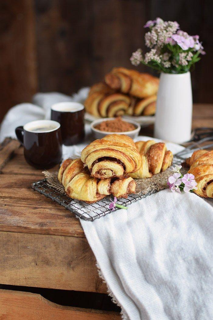 Franzbrotchen Hamburg Cinnamon Pastry Rolls Rezept Franzbrotchen Franzbrotchen Hamburg Und Franzbrotchen Rezept