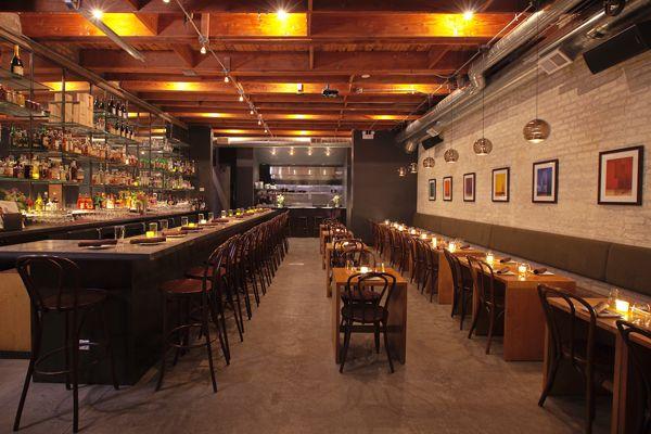 Ada Street Has A Speakeasy Charm With An Incognito Unmarked Entrance Venture Down A Dark Hallway Cool Restaurant Design Chicago Restaurants Restaurant Design