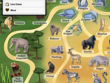 afbeeldingsresultaat voor plattegrond dierentuin engels