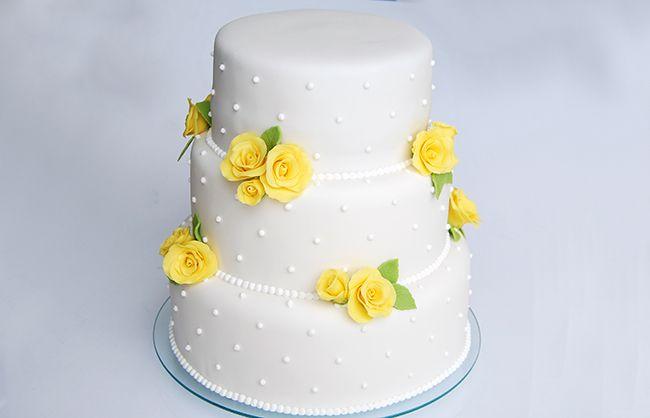 Bolo Casamento Rosas 1 Bolo De Casamento Simples Bolo Noivado