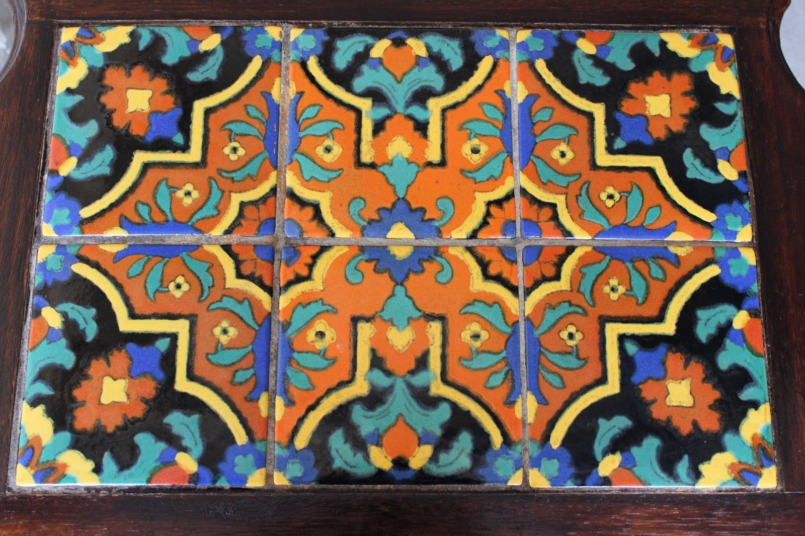 Antique 1930 S Monterey California Tile Top Table Mission Arts Crafts Taylor Ebay Vintage California Tile Art Mission Tile