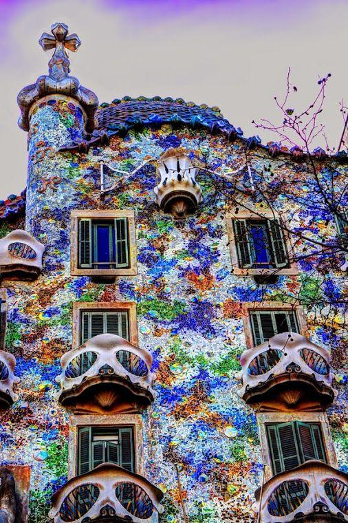 Castelo Barcelona Cidade Espanha Modernismo