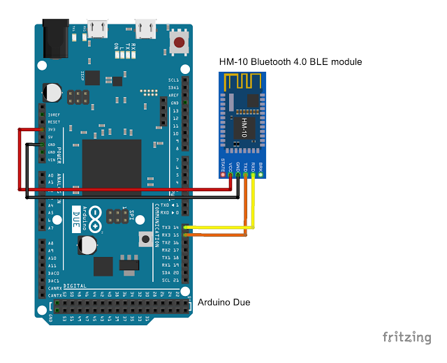 Arduino-er: Test HM-10 and AT-09, Bluetooth 4 0 Module, with Android