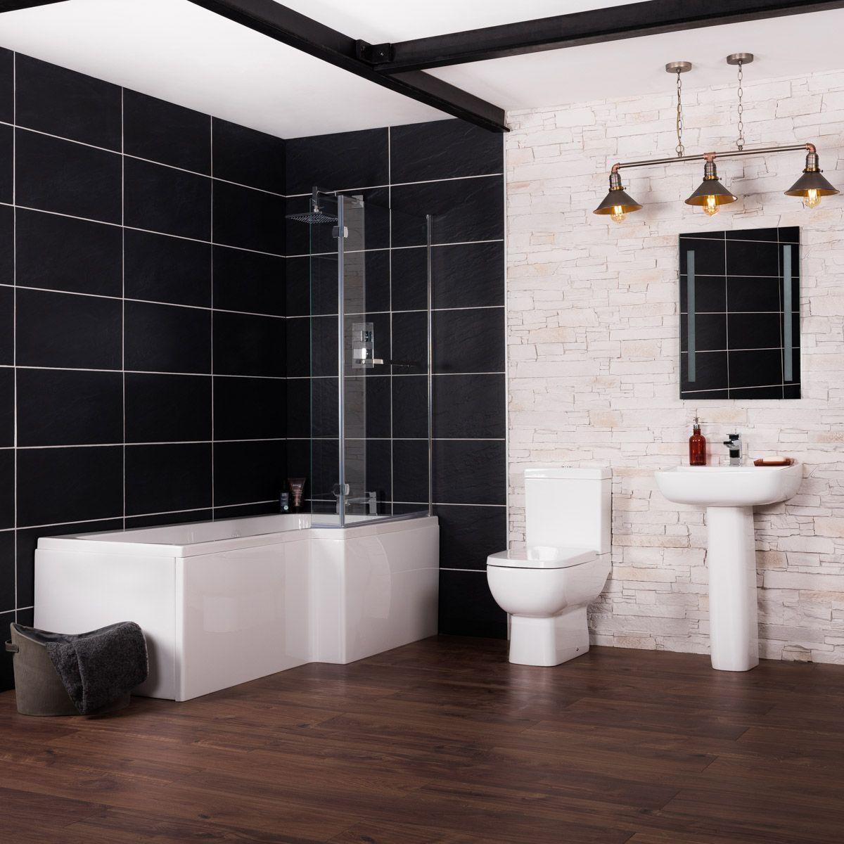 Hier Auch Noch Die Aufuhrung In L Form Badewanne Dusche Badezimmer