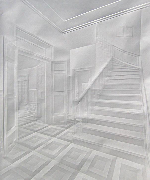 Simon Schubert Folded Paper
