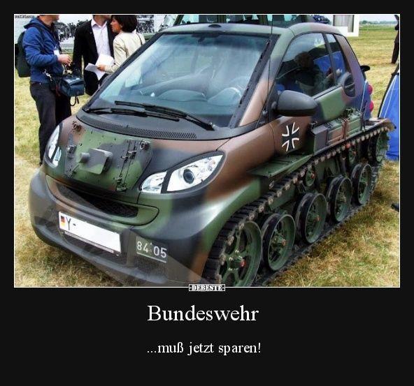 Bundeswehr Muss Jetzt Sparen Lustige Bilder Spruche Witze Echt Lustig Annakhai Annakhai Bilder Bundeswehr Lustige Autos Smart Fortwo Auto Witze