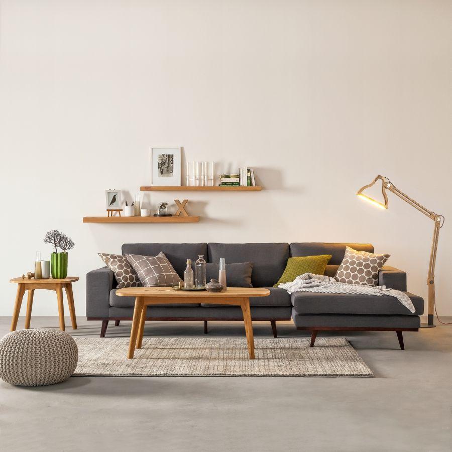 Ecksofa Billund I Webstoff | Living rooms, Interiors and Room