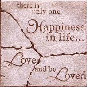 Happiness Love Quotes Awesome Happyquotesaboutlifeandlovethereisonehappinessinlife
