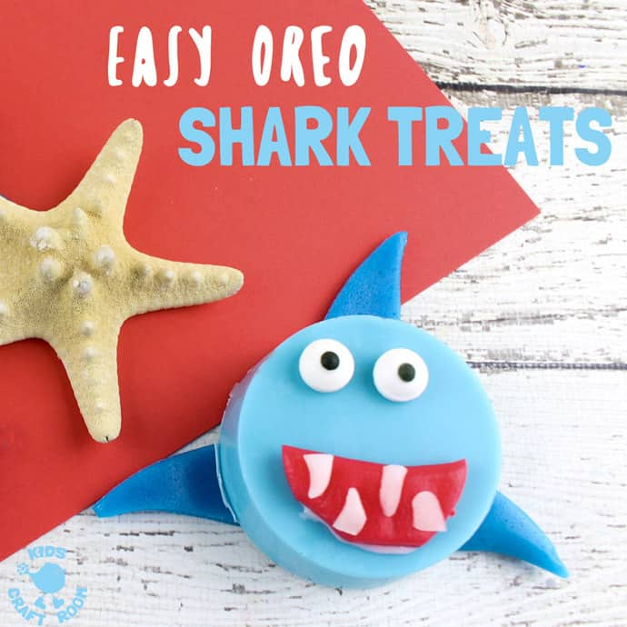 OREO SHARK TREATS #sharkweekfood
