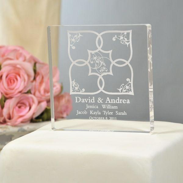 Blended Family Cake Topper Perfect For Wedding Blendedfamilywedding