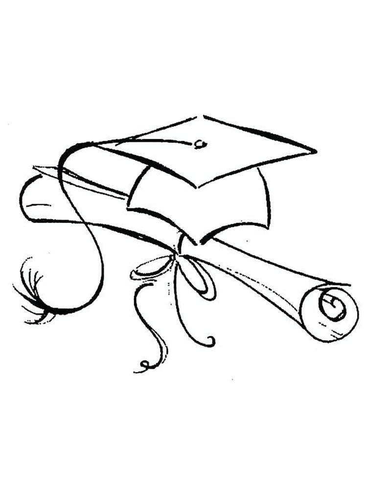 Free Pre K Graduation Coloring Pages Graduation Day Is A Day That Students Always Look Forward Coloring Pages To Print Coloring Pages Printable Coloring Pages