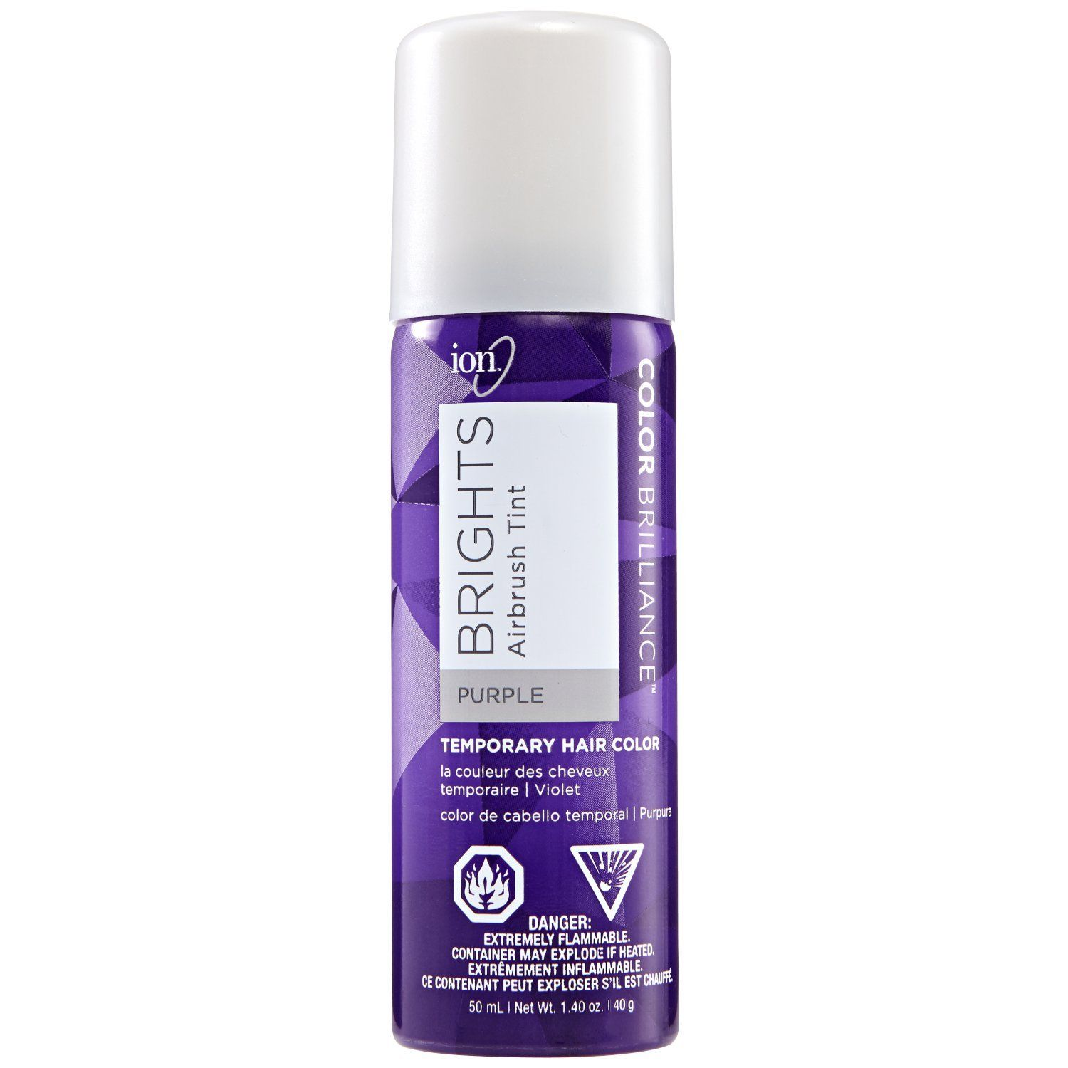 Brights Airbrush Tint Purple Temporary Hair Color Be Sure To Check Out This Awesome Product This Is Temporary Hair Color Hair Color Ion Color Brilliance