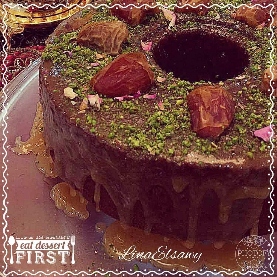 المطبخ العربي حلوي ات و معجنات كيكه التمر الهشه Arabic Sweets Food Sweets