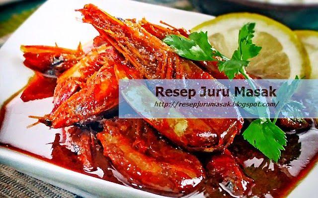 Resep Maskan Cara Membuat Udang Goreng Saus Tiram Sederhana Resep Resep Makanan Resep Udang