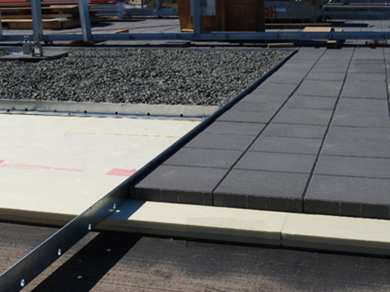 Flat Concrete Roof Insulation Extruded Polystyrene Is