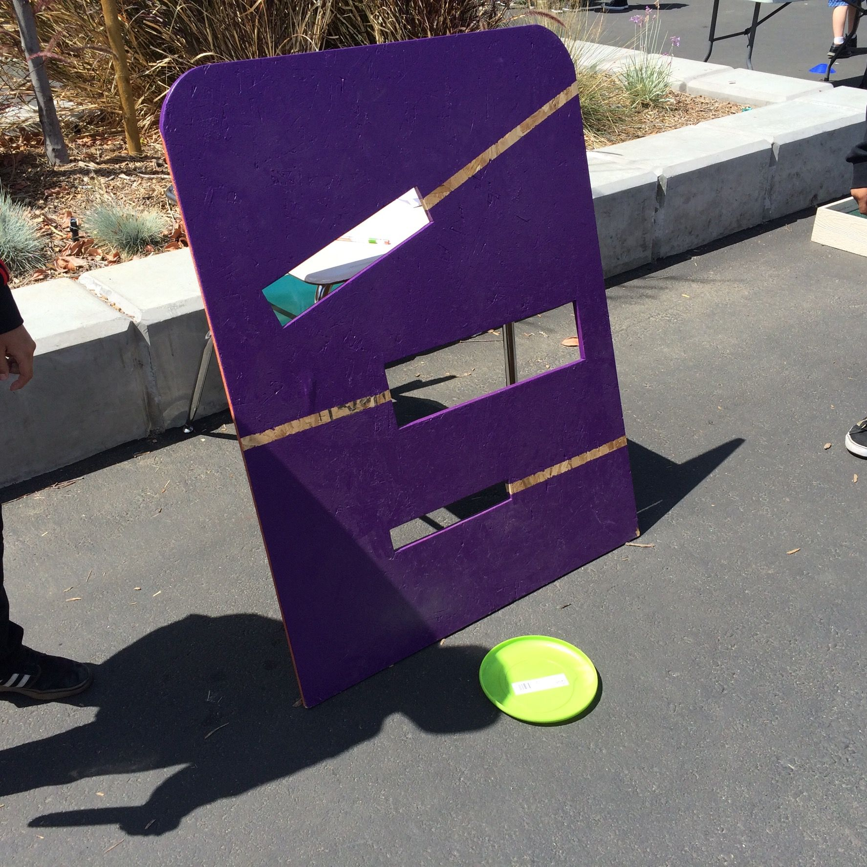 carnival game frisbee toss carnival games pinterest