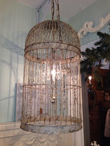 Exceptionally chic birdcage chandelier diy bird cages exceptionally chic birdcage chandelier diy aloadofball Image collections