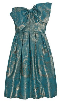 Rebecca Taylor Metallic Party Dress - for vow renewals! =)