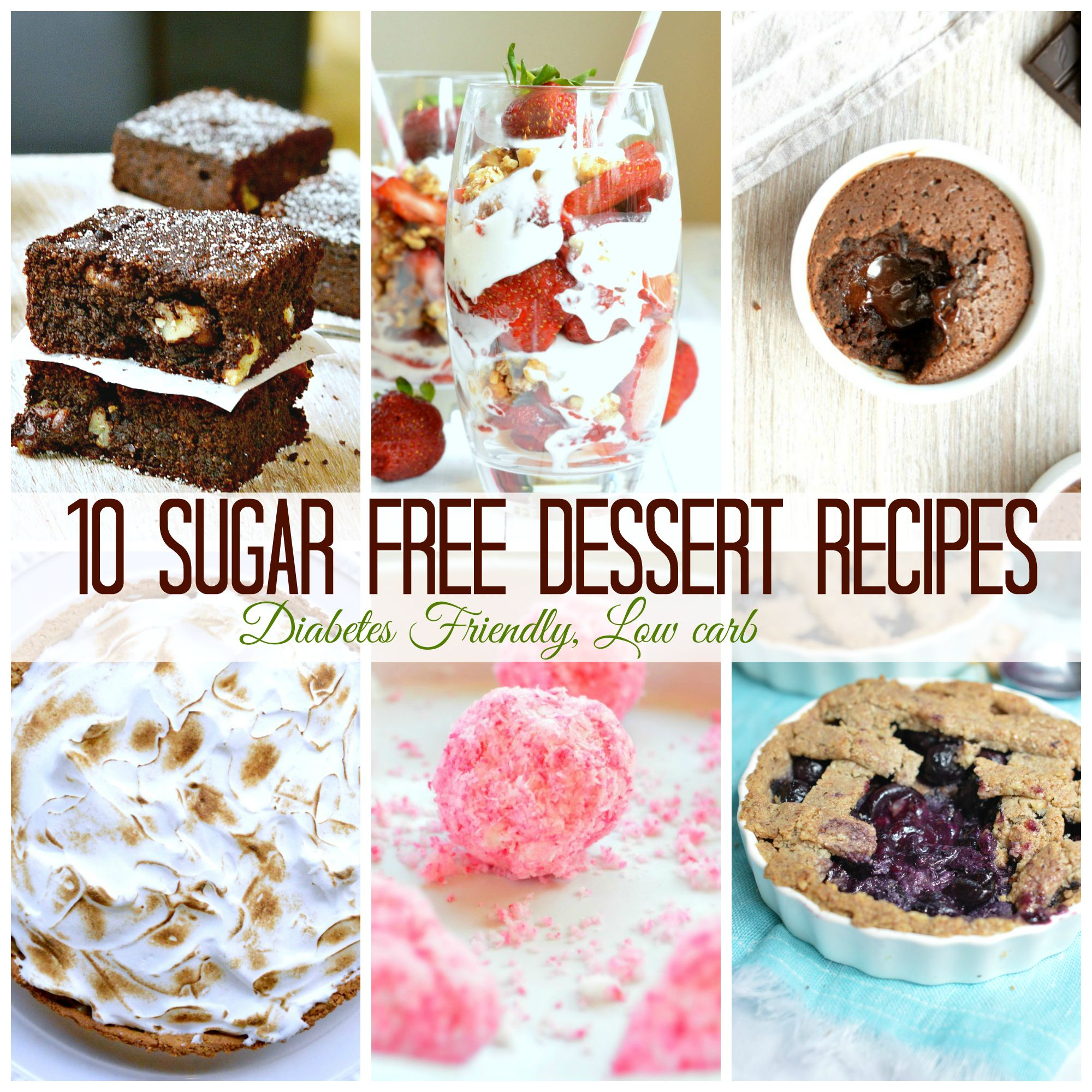 10 sugar free dessert recipes for diabetics more refined sugar