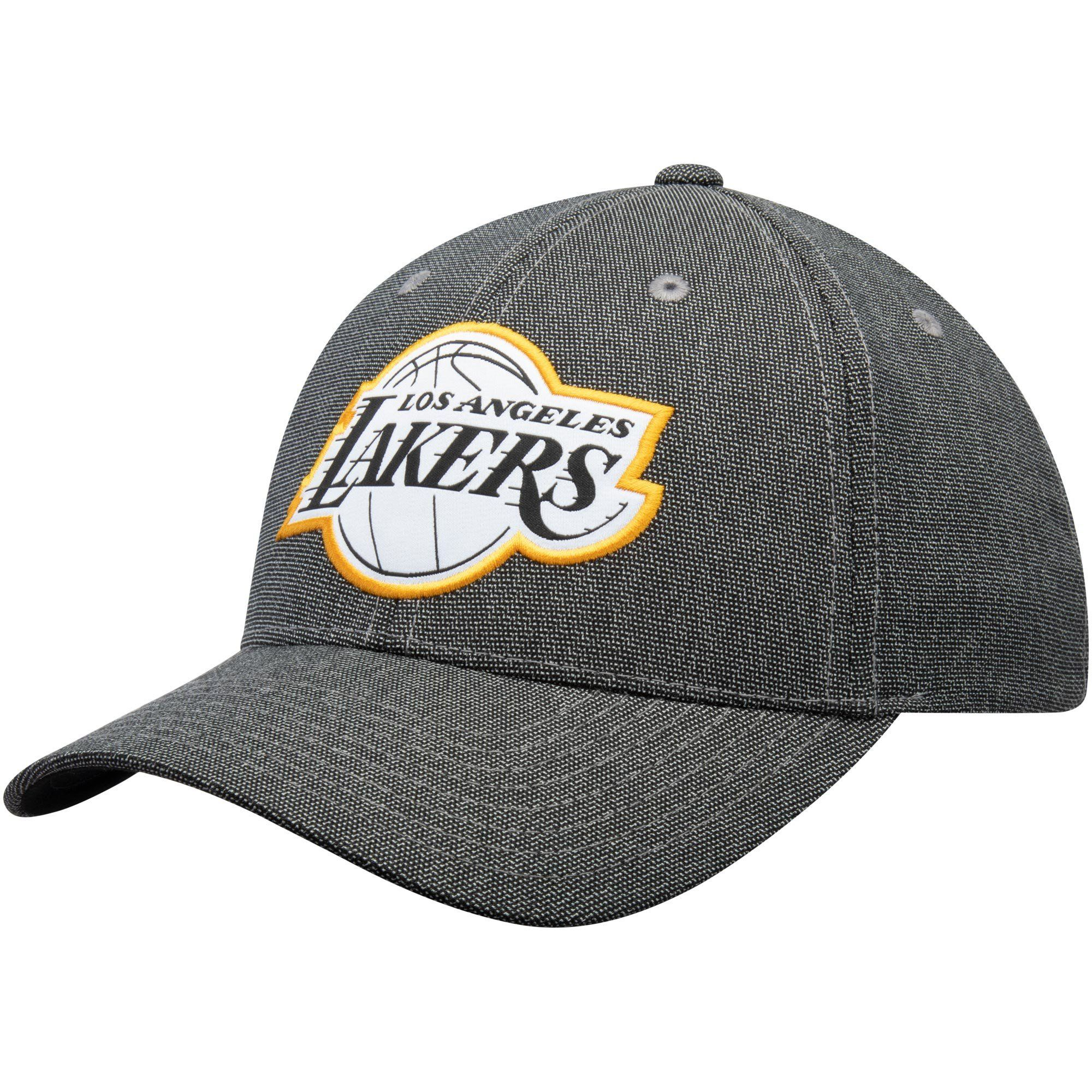 huge selection of 9884d 236c0 Los Angeles Lakers Mitchell   Ness NBA Stretch Melange Snapback Cap