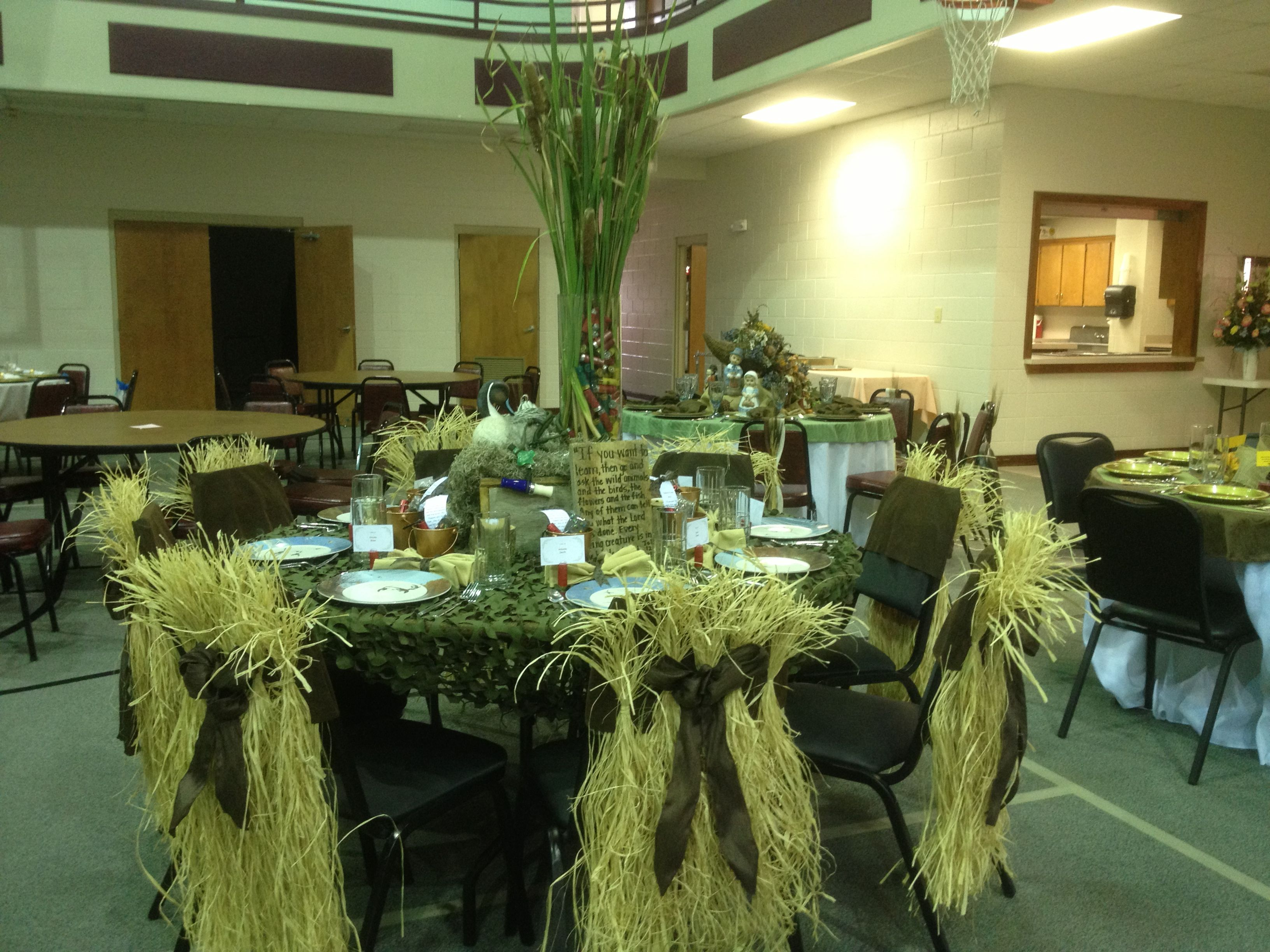 Duck Themed Table Decorations Decor