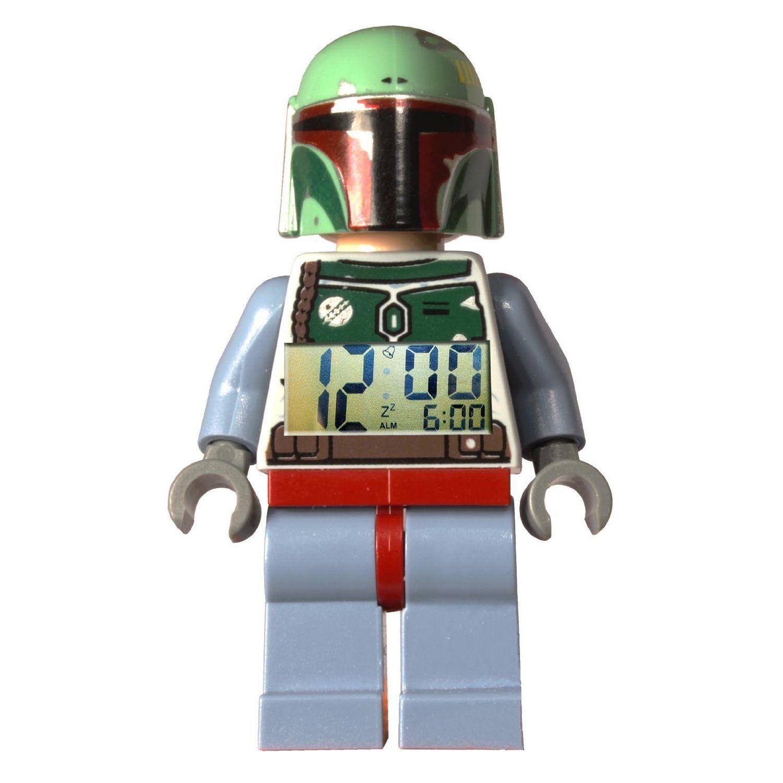 LEGO Star Wars Boba Fett Wecker: Amazon.de: Küche & Haushalt | Star ...