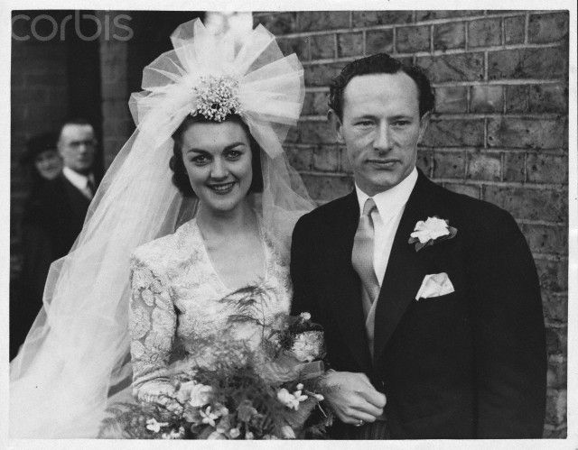 Richard Hearne Marries Yvonne Ortner 1940\'s | Famous Weds:40-50\'s ...
