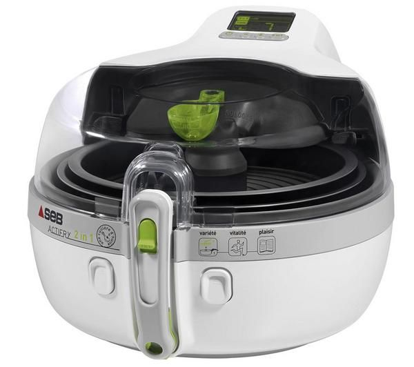 Seb Friteuse Actifry 2 En 1 Yv9600 00 Blanc Gris Concours